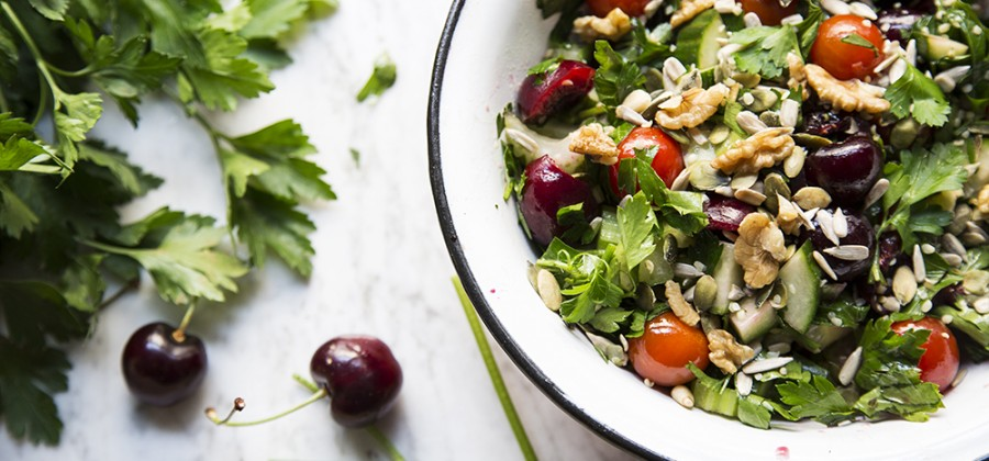 Summer Cherry Salad